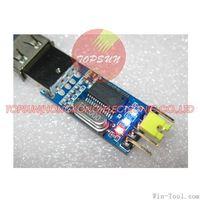Free shipping 10/LOT PL2303HX USB to TTL / USB-TTL / STC microcontroller programming module / PL2303 nine of the upgrade board