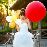 """high quality 5pcs Unique Exciting 36 inch red big balloons Celebration Latex 36"""" Balloons Wedding decoration Free Shipping"""