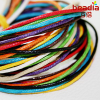 1MM 60Meters/lot Waxed Cotton Cord String Thread (Min.order is $10 mix order) FXT003