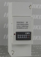 DDS238 5(65) 230V 50HZ Single phase Din rail KWH Watt-hour meter, Din rail Meter,Din railelectric energy meter