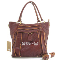 2013 women's spring genuine leather handbag one shoulder cross-body 8872 dual-use package