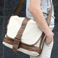 Badinaging eight hemp bag men's bag shoulder bag cross-body eco-friendly bag
