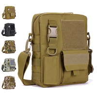Vertical version of the Camouflage messenger bag casual bag outdoor travel sports single shoulder bag man formal tactical field
