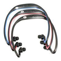 New USB Ear loop Wireless headphone Neckband Headphones Earphones FM Sport MP3 Player With TF Slot fone de ouvido sem fio