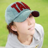 Summer fashion embroidered towel male Women sun-shading baseball cap