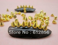 3*3.3  2000pcs 2 Colors Nail Art alloy Decoration For UV Gel Acrylic Systems Free Shipping