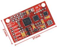 Part Areas Free Shipping Imu ahrs 10dof sensor module mpu6050 hmc5883 bmp180 belt