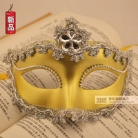 Halloween mask women's mask masquerade masks bordered flower mask