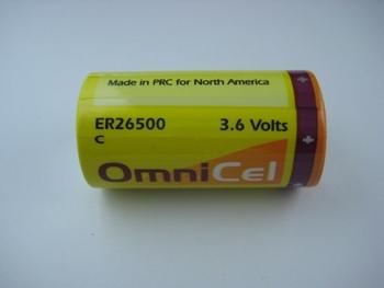 ER26500 3.6V 2 code Lithium Asia (OmnicEl) Battery new original goods decuple SEG