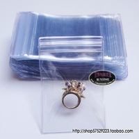 Free Shipping Wholesale 200pcs/lot 7x11cm Jewelry Bag, Clavicle Bag, Thickening Of The Transparent Bag