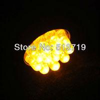 4x Car 1156 382 Tail Light Brake Light Car Turn Signals 9 LED Bulbs Lamp Lights BA15S P21W Yellow TK0102