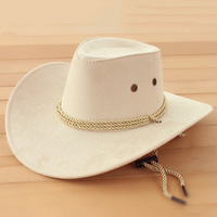 Cowboy hat male women's hat the trend of fashion jungle camping travel hat