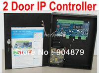 2 Door IP Controller Door Access with Browser via a web interface Two door Access Controller panel TCP/IP Webserver controller