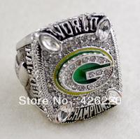 Men ring,Free Shipping 2010 Green Bay Packers Super Bowl World Championship Ring size 11.25