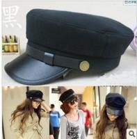 Exquisite captain hat beret navy hat cadet cap