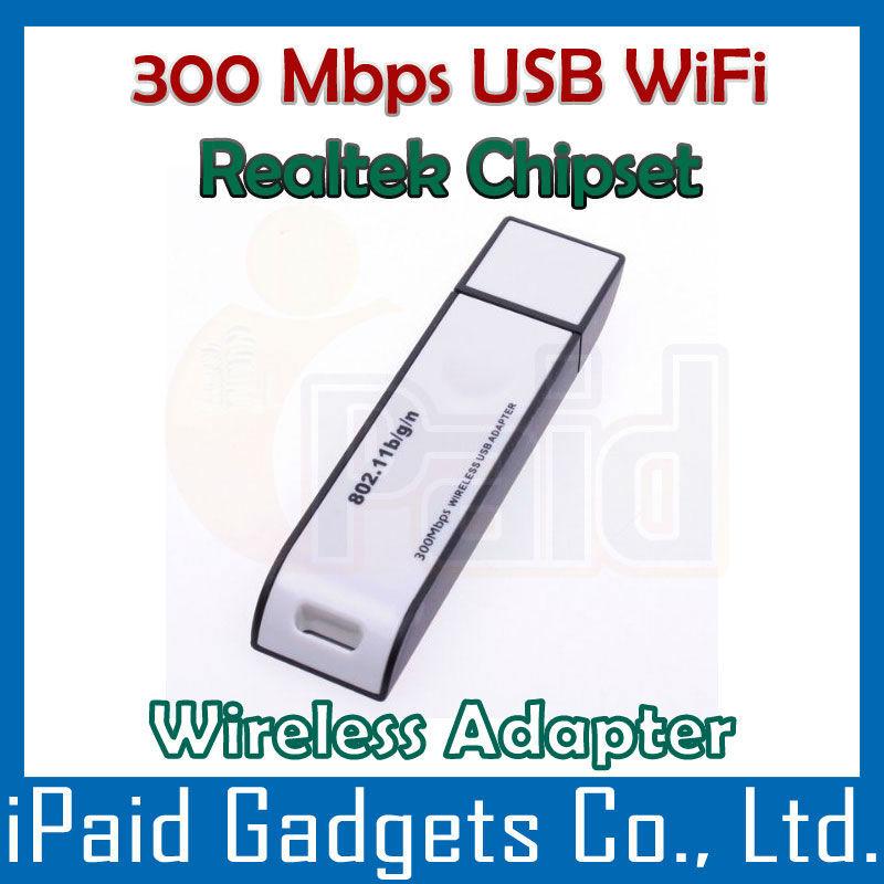 [ 25 Pcs ] Bargain*** Realtek Chip USB WiFi Adapter Wireless 300Mbps Wi-Fi Adapter Lan Network IEEE 802.11b/g/n 300 Mbps Adaptor(China (Mainland))