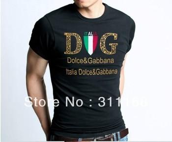 Wholesale - Mens Sexy Tshirt Silky Hi-stretch Form-fitting Round Collar Short Sleeve Casualwear V-neck shirt best quality