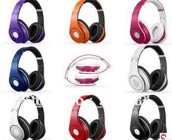 EMS/DHL Free shipping! High Quality New 2013 Beating Studio Foldable High-Definition Noise Canceling Stereo Headphones Headset