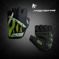 Merida emerita outside sport wear-resistant shock absorption slip-resistant ride semi-finger short gloves