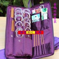 New 2014  knitting needle bamboo set knitting needle single and double point knitting needles circular knitting needles
