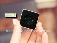 Wholesale - new multimedia MINI clip MP3 music player sugar style Support 8GB tf Card slot Square MP3 dhl free