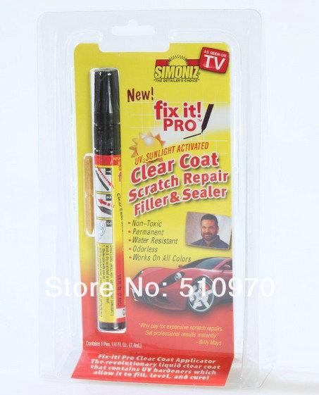 Magic Fix It Pro Car Scratch Repair Remover Filler Sealer Pen 10pcs/lot(China (Mainland))