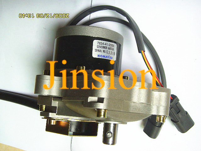 Free shipping Komatsu Excavator PC200-6 PC220-6 throttle motor assembly 7824-40-2000/7834-40-2007(China (Mainland))