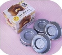 free shipping Wilton zd53 mini sandwich cake mold 4 loading box