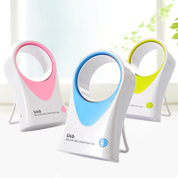 Free shipping!Usb battery dual mini fan handheld small air conditioner17.5*5*10.5cm