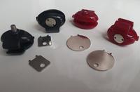 Free shipping 5pcs/Lot Plastic Gun trigger lock,Gun lock with key