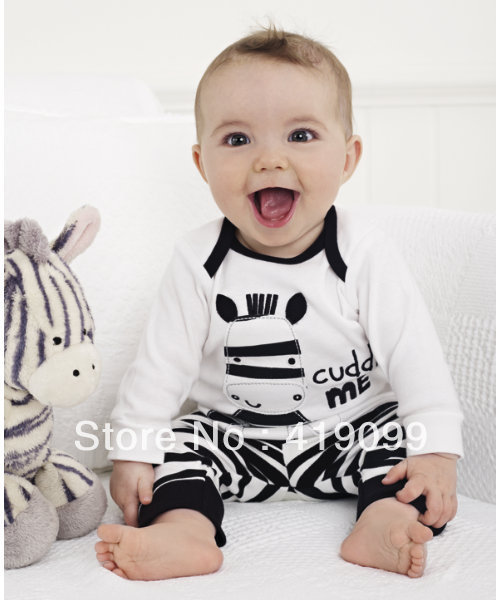 Free shipping Autumn new arrival 5sets/lot Baby Long sleeves cotton pajamas children pyjamas children sleepwear(China (Mainland))