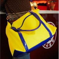 Large capacity bag neon bag sports travel bag casual bag messenger bag handbag women's