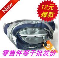 Fashion canvas waist pack male waist pack women's waist pack travel bag chest pack internality small bag multifunctional bag
