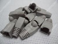 Lot 100 x set RJ45 Connector Modular End Cap Boot Head Cat5 Plug Cat6 Cable 5E
