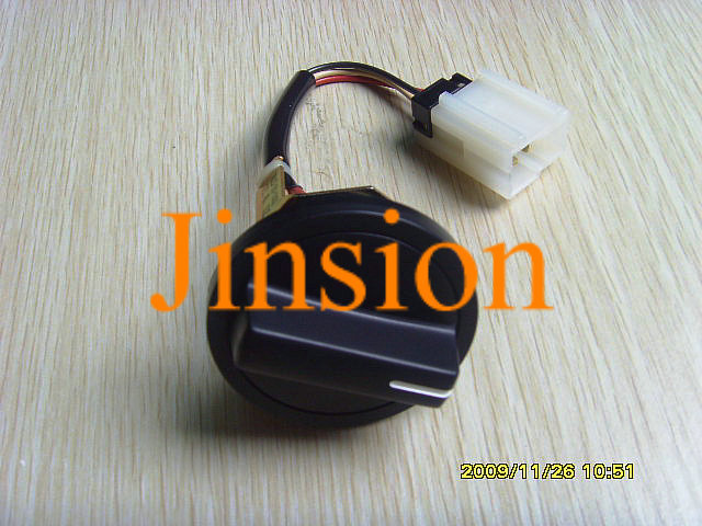 Free shipping KOMATSU PC200-6 PC200-5 excavator throttle knob dial knob switch 7825-30-1301(China (Mainland))