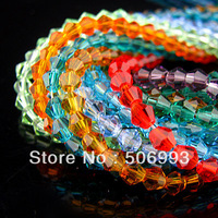 1440pcs/lot 4mm Faceted Synthetic Glass Crystal Beads for Jewellery Making