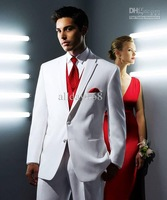 Custom size /Groom Tuxedos/Jacket/Tie/Vest and Pants for 2012 new stlye NO.008