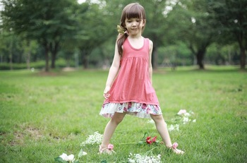 TOP SALE!2013 new arrival girl dress ,sundress for girls,lace cotton sleeveless dress,5PCS/LOT&Free Shipping!