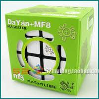 New  MF8 & Dayan magic cube Generation II 4x4x4 free shipping puzzles Black White