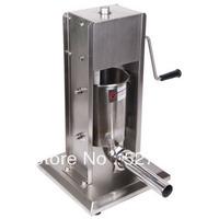 5 stainless steel vertical sausage stuffer enema sausage filling machine