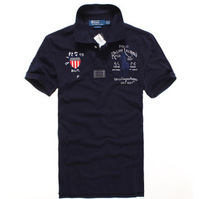 Paul Hot American original single trade mark short-sleeved shirt male models  4 corlours-1