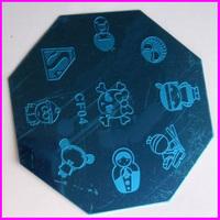 Free Shipping  10pcs/lot  Stamping Nail Art   Image Plate  CF04  Stamping Plate  Printing Nail Plate