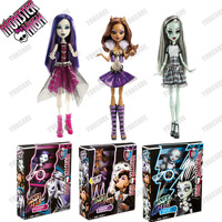 Original 3pc/lot Monster High dolls,Monster High It's Alive Doll,2013 new styles hot seller girls plastic toys Freeshipping