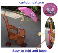 Brand New Sunshine Kids Buggy Shade baby stroller Parasol adjustable folding umbrella 5 colors free shipping