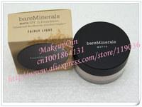New Loose Powder WATTE BareMinerals Bare Minerals Sunscreen Foundation Spf15 (fairly light N10) 6g (40 pcs)40pcs