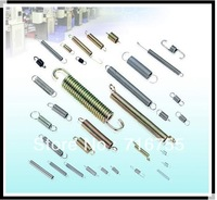 Supply tension spring used in various industries hardware spring Precision Spring metal spring all kinds of wire Ex-work price