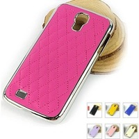 Free Shipping Luxury Leather Case For Samsung Galaxy S4 i9500, Fashion Case for Samsung I9500 10pcs/Lot