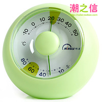 Evening th141 desktop indoor thermometer hygrometer high precision household thermometer