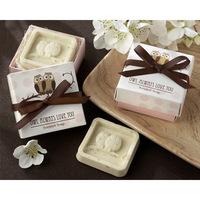 Wholesale free Shipping 12pcs/lot romantic night owl shape Soap for Bath Body Wedding Gift scented decorative soap