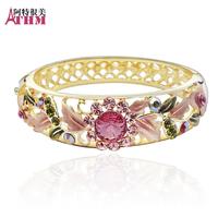 Bracelet female fashion crystal accessories cloisonne gift